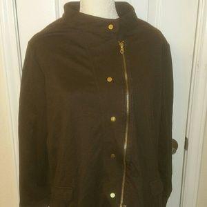 Avenue brown cotton jacket